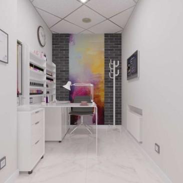 Дизайн проект Салона красоты