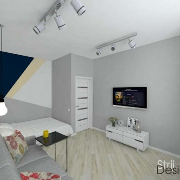 Дизайн-проект квартиры в ЖК Альтаир