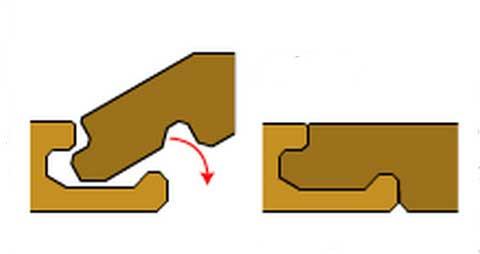 Укладка ламината своими руками Click-замки